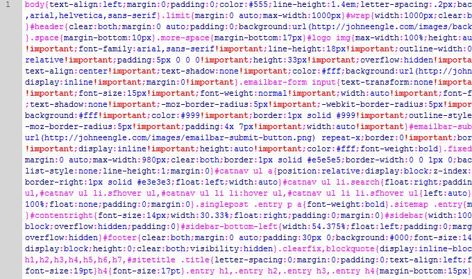 Minify Html Css Javascript